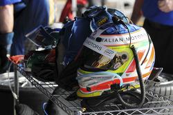 Helmet of Michael Valiante