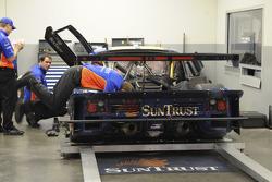 SunTrust Racing team members at work
