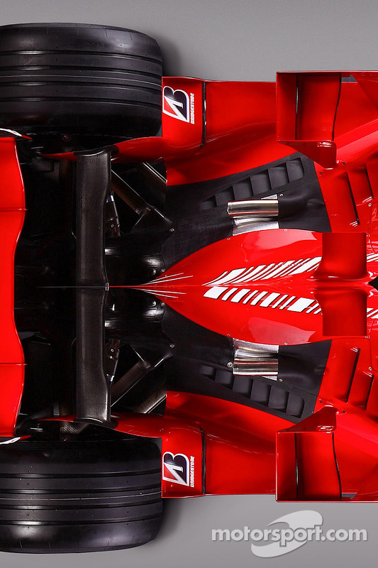 Detail des neuen Ferrari F2008