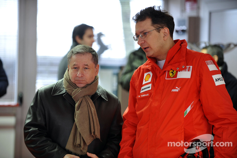 Jean Todt and Nikolas Tombazis