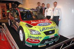 Команда BP Ford World Rally представляет ливрею на сезон 2008 WRC: пилоты Яри-Матти Латвала и Микко Хирвонен