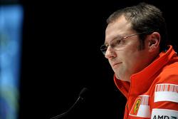 Stefano Domenicali, Scuderia Ferrari, Director