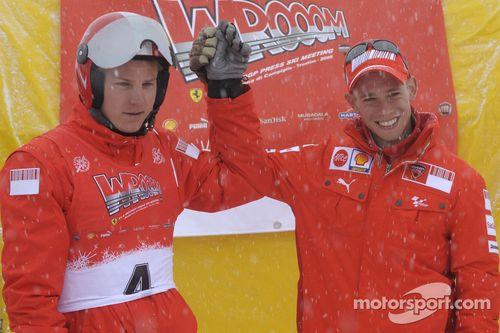 Wrooom 2008: F1 basın kayak toplantısı, Madonna di Campiglio