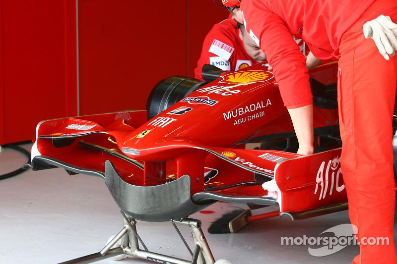Frontwing of Scuderia Ferrari, F2008