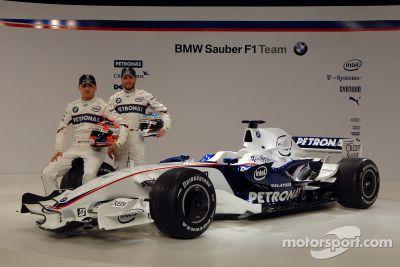 BMW Sauber F1.08 launch, Munich, Germany