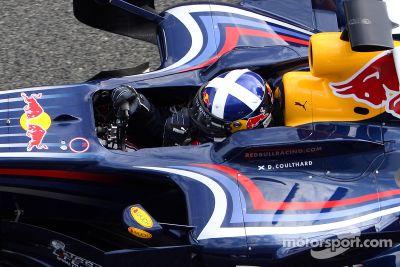 Lanzamiento del Red Bull RB4