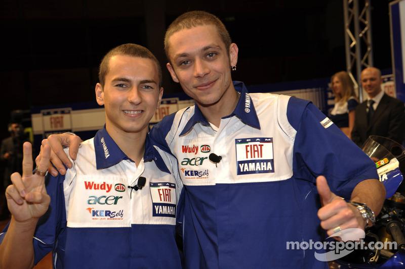 2008 - Jorge Lorenzo se convierte en su compañero