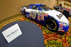 Chip Ganassi Racing with Felix Sabates: Dodge NASCAR Sprint Cup car of Dario Franchitti