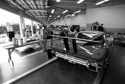 Bob Stallings Racing garage area