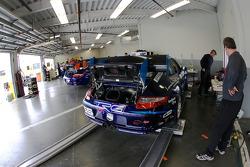 TRG garage area