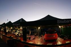 Service Park, Stobart VK M-Sport Ford World Rally Team