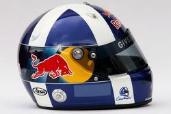 Helmet of David Coulthard, Red Bull Racing