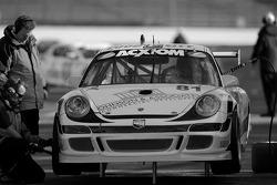 #81 Synergy Racing Porsche GT3 Cup: Robert Doornbos, Patrick Huisman, Steve Johnson, Richard Lietz