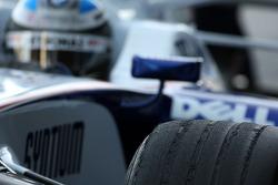 Nick Heidfeld, BMW Sauber F1 Team, tyre