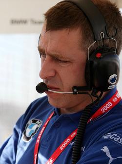 Bart Mampaey, Team Manager, BMW Team UK
