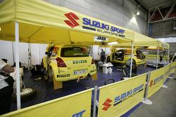 Suzuki Swift S1600 service