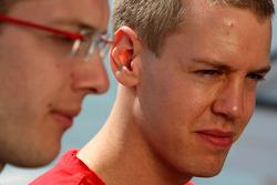 Sebastian Vettel, Scuderia Toro Rosso, Sébastien Bourdais, Scuderia Toro Rosso