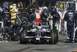 Pit stop for Nico Rosberg, WilliamsF1 Team
