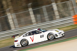 #60 Prospeed Vcompe Porsche 997 GT3 RSR: Markus Palttala, Mikael Forsten, Richard Westbrook