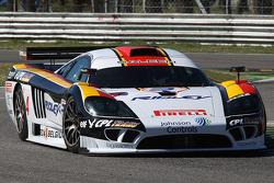 #4 Peka Racing NV Saleen SR7: Anthony Kumpen, Bert Longin