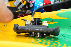Will Power's steering wheel