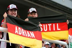 Adrian Sutil fans