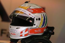 Helmet of Tom Kristensen, Audi Sport Team Abt Audi A4 DTM 2008