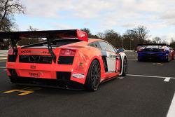 Starting grid: Tech 9 Lamborghini Gallardo