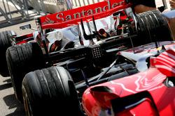 Scuderia Toro Rosso, STR02 and McLaren Mercedes, MP4-23