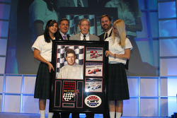Hall of Fame Banquet: Jim McElreath, Eddie Gossage and children from Happy Hils Childrens Home