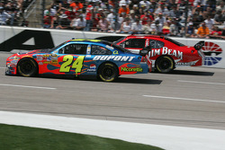 Jeff Gordon et Robby Gordon