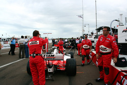 Team Penske prepares for the race