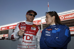 Rinaldo Capello and Vanina Ickx