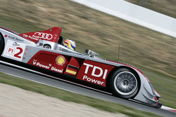 L'Audi R10 TDI N°2  (Alexandre Prémat, Mike Rockenfeller)