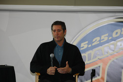 IMS Chief Executive Officer Tony George