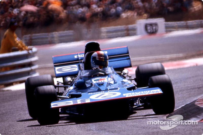 François Cévert, Tyrrell 002