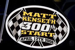 Matt Kenseth will make his 300th career start at Phoenix International Raceway