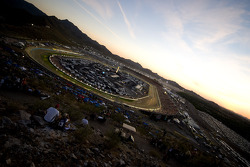 The sun goes down on Phoenix International Raceway during the Nascar Sprint Cup Subway Fresh Fit 500