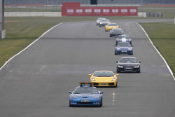 The 3rd annual London to Silverstone Supercar Tour