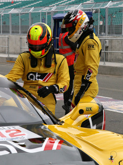 #12 AT Racing Corvette C6R: Aliaksandr Talkanitsa, Wolfgang Kaufmann