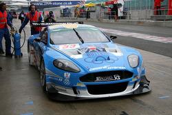 #33 Jetalliance Racing Aston Martin DBR9: Karl Wendlinger, Ryan Sharp