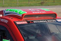 Repsol Mitsubishi Ralliart Team: Mitsubishi Pajero/Montero Evolution MPR14