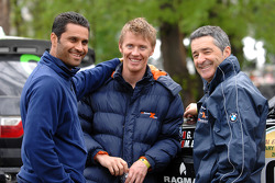 Nasser Al Attiyah, Guerlain Chicherit and Bruno Saby