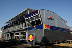 Red Bull Racing and Scuderia Toro Rosso, energy station, Motorhome