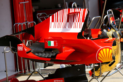 Scuderia Ferrari, Engine cover, detail