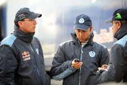 Dieter Depping, Giniel de Villiers and Carlos Sainz