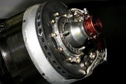 Toyota TF108 brake system