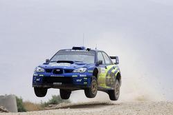 Крис Эткинсон и Стефан Прево, Subaru World Rally Team, Subaru Impreza WRC
