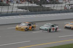 David Reutimann and Dale Earnhardt Jr.