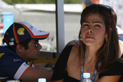 Wife of Nelson Piquet Snr.